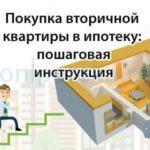 Покупка вторичной квартиры в ипотеку: пошаговая инструкция